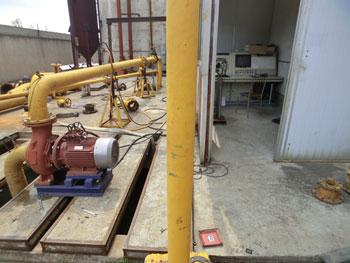 水泵流量综合试验装置